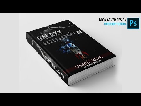 How to Make a Beautiful Book Cover | Photoshop Tutorial thumbnail