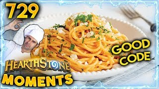 Take Some SPAGHETTI CODE!! | Hearthstone Daily Moments Ep. 729