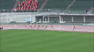 20160619 中国高校総体陸上 男子800m決勝