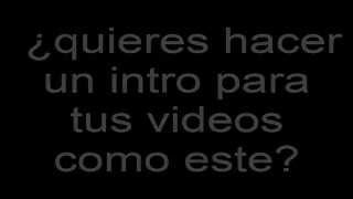 intros para videos de youtube