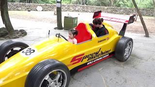 자동차가 엄청 많아요!! 서은이의 자동차 박물관 체험 전동 자동차 오토바이 타요 버스 Funny Car Museum Power Wheel