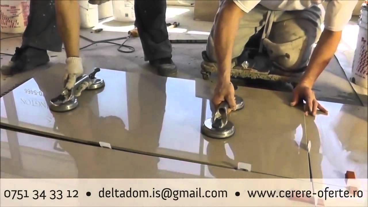 Sistem Nivelare Montaj Placi Ceramice Gresie Faianta Youtube