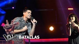 "Emmanuel vs Melisa - ""Consejo de amor"" - Tini Stoessel - Batallas - La Voz Argentina 2018"