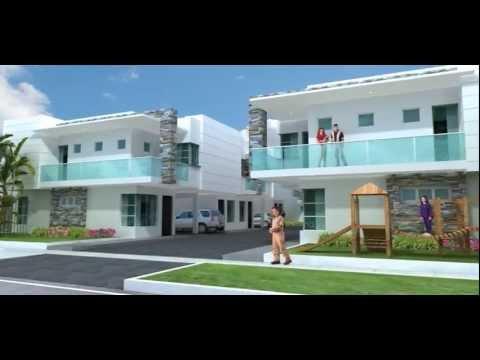 Quintas de santa elena barranquilla youtube for Las mejores fachadas de casas