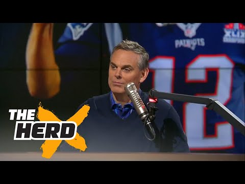 Colin agrees with Vegas, The Patriots are the Super Bowl LI favorites   THE HERD