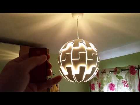 Turn An Ikea Lamp Into A Remote Controlled Death Star Lamp