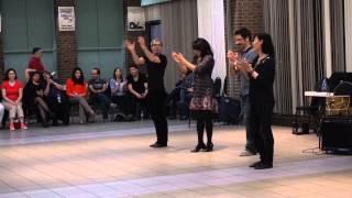 Azerbaijani Dance Workshop in Toronto (2) Azərbaycan rəqs sinif