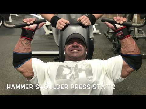 Advanced DC Training Chest and Shoulder with Dusty Hanshaw