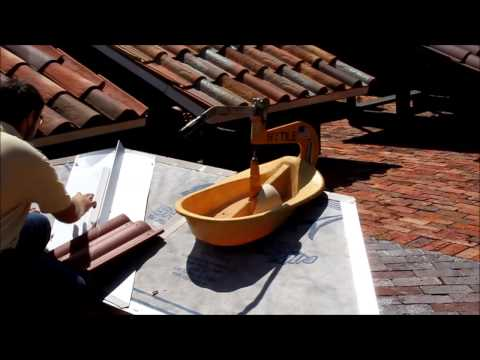 How to cut roof tile: Double Eagle HYTILE