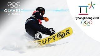Argentina's Matías Schmitt places 30th at the Men's Big Air | Day 12 | Olympics 2018 | PyeongChang
