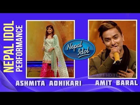 Mohani Lagla Hai | Amit Baral & Asmita Adhikari | Nepal Idol Performance | Nepal Idol Season 2