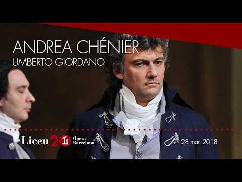 """'Andrea Chénier' (2017/18) - """"Un dì all'azzurro spazio"""""""