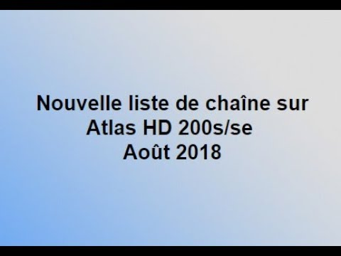 liste favoris atlas hd 200s novembre 2018