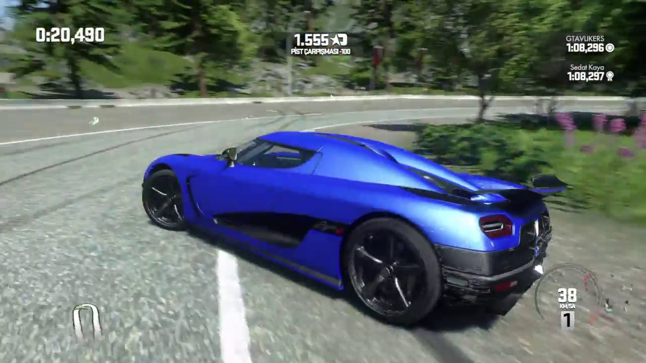 DRIVECLUB™ | Koenigsegg Agera RS | High Speed !! 348 Km/H #PS4Gameclub