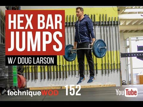 Hex Bar Jumps - Explosive Power - Leg and Back Strength - TechniqueWOD - 152 - Doug Larson