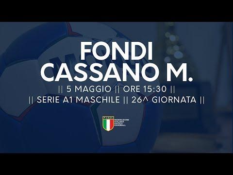 Serie A1M [26^]: Fondi - Cassano Magnago 16-25