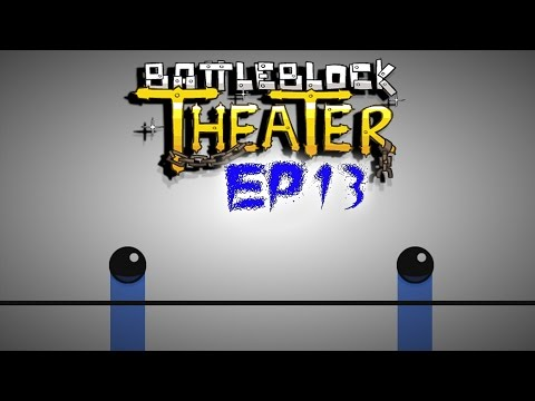 BattleBlock Theater! - Co-op w/ H2O Delirious (Deep Inside the Cat!) (EP13)