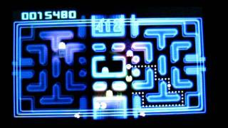 3DS Pac-Man & Galaga Dimensions - PacMan CE Gameplay