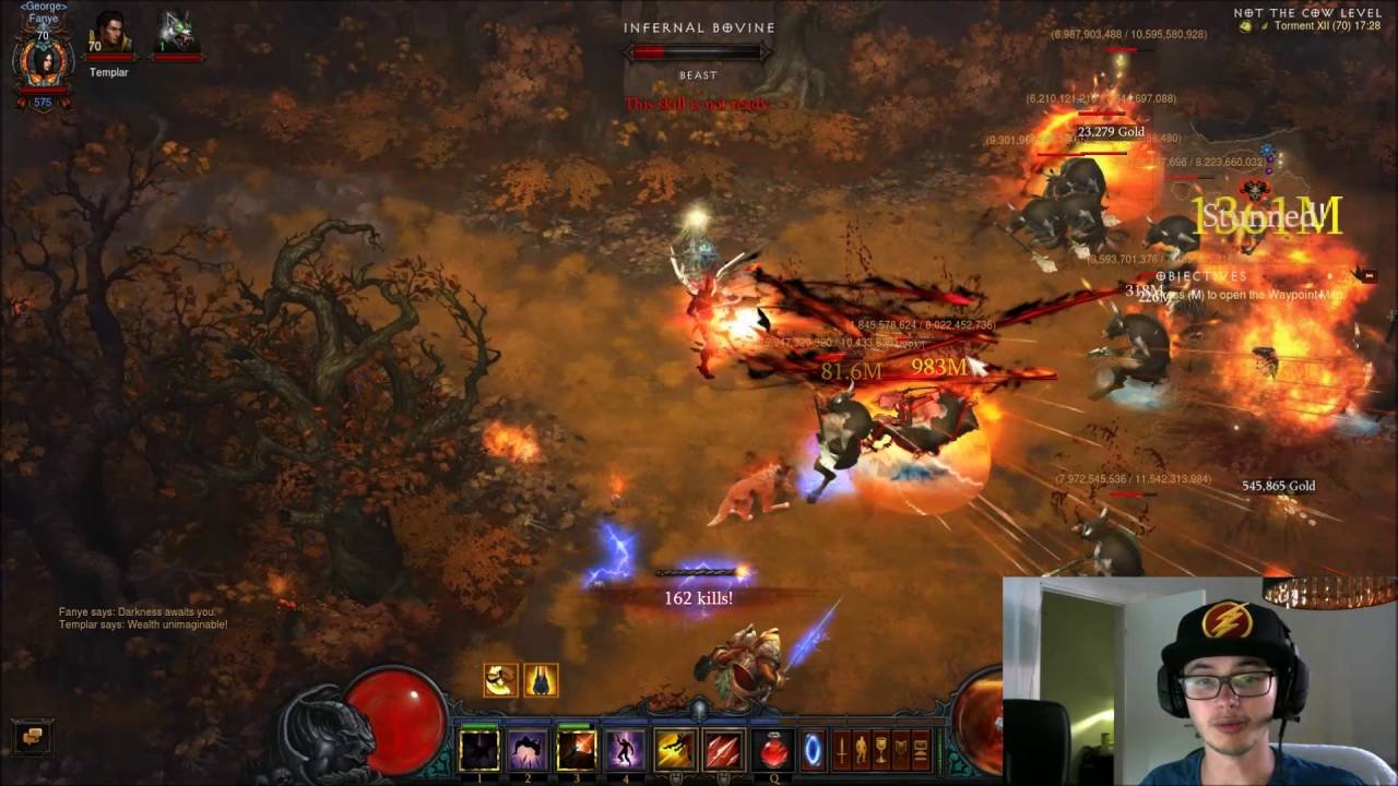 diablo 3 how to get cow rift