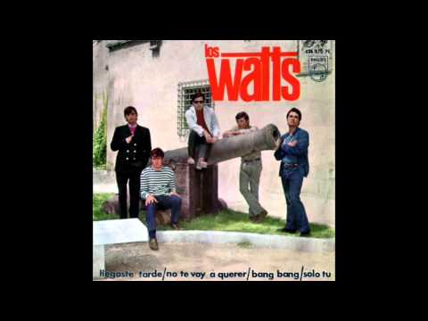 Los Watts - Llegaste Tarde (Out Of Time - The Rolling Stones Cover)