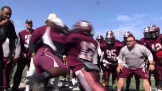 FIRST GLANCE:   #NCCU FOOTBALL SPRING BALL:  MARCH 27, 2014