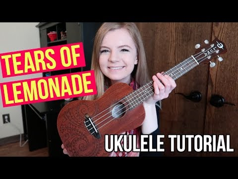 how to play tears of lemonade on ukulele! (the instagram comments song tutorial)