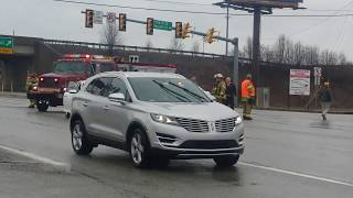 Accident On Route 30 At Westmoreland Mall, Greensburg, Pa March 27, 2018