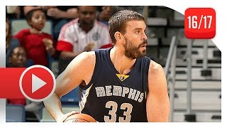 Marc Gasol Full Triple-Double Highlights vs Pelicans (2016.12.05) - 28 Pts, 11 Reb, 11 Ast, CLUTCH!