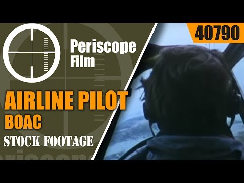 BOAC AIRLINE PILOT TRAINING   DOCUMENTARY FILM  40790