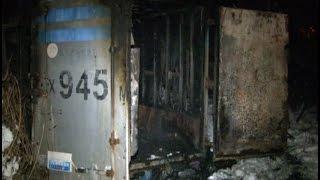 Бездомный погиб во время пожара в Северном округе.MestoproTV