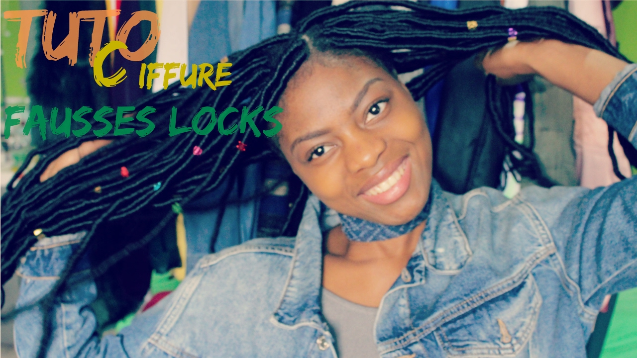 Bien-aimé Tuto Coiffure | Fausses Locks | Xpression - YouTube IN51