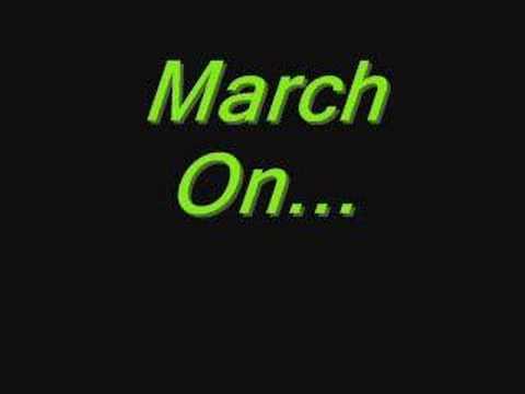 Good Charlotte-March On. Lyrics.