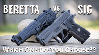 Beretta vs Sig Sauer | Which One Do You Choose??