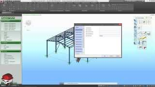 Advance Steel 2015.1 Урок 10 Подготовка модели 2