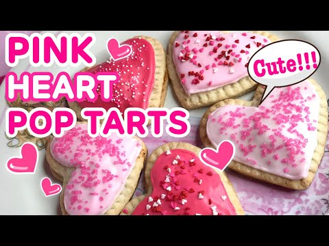 [BAKING] PINK HEART POP-TARTS♡ AZUSA BARBIE