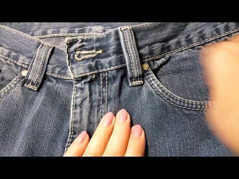 Как сделать чтобы молния не расходилась на джинсах