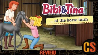 BIBI & TINA: AT THE HORSE FARM - PS4 REVIEW (Video Game Video Review)