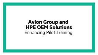Avion Group soars above the competition with HPE OEM Solutions
