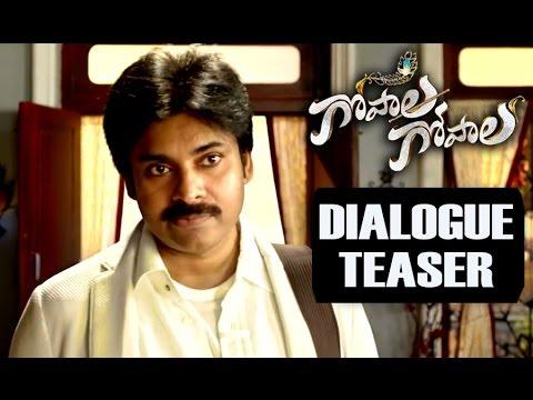 Gopala Gopala New Dialogue Trailer - Pawan Kalyan, Venkatesh, Shriya - Gulte.com