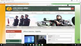 How to Apply for Indian Army Selection Online -Tamil Tutorials