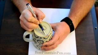 Fountain Pen Nib Smoothing How-To