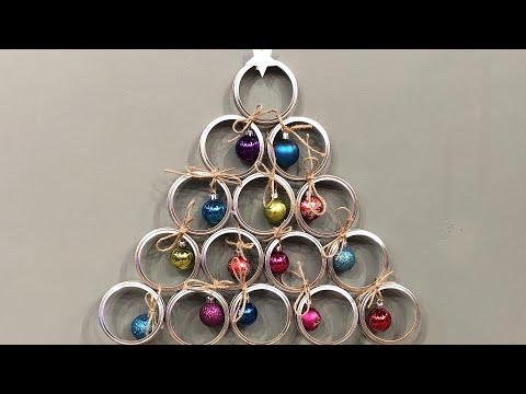DIY Wall Christmas Tree Demos | Taniya Nayak