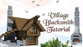 Minecraft Tutorial: How To Build A Village Blacksmith! YouTube