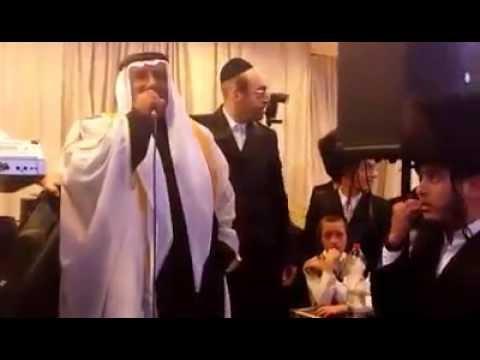 """השייח' הבדואי בחתונה חרדית: """"יהודים, אתם העם הנבחר"""""""