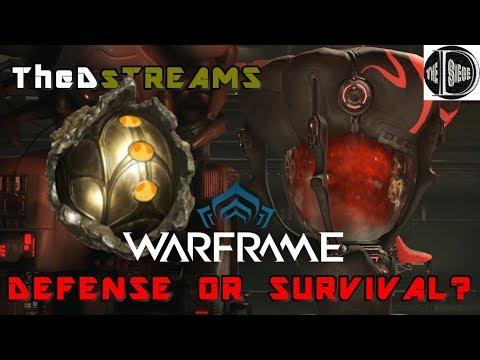 WARFRAME - DEFENSE OR SURVIVAL?