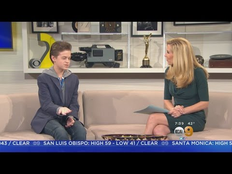 'Colony' Star Jacob Buster Speaks to KCAL9