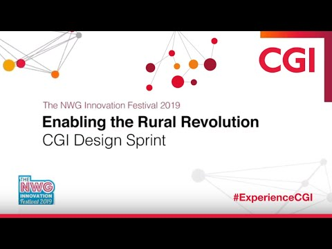CGI: NWG Innovation festival 2019 - Enabling the Rural Revolution