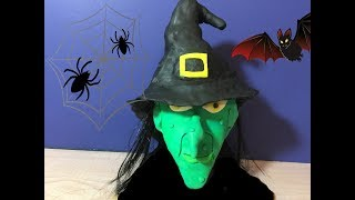 How to make a WITCH with Play--Doh. by Granny B. (CKToysClub)