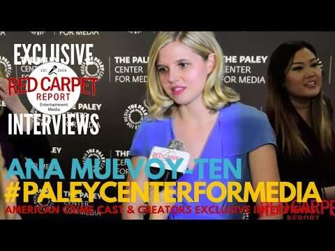 Ana MulvoyTen ed at Paley Center's ABC's American Crime S3 Premiere Screening & Panel