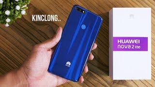BIRU LEBIH KEREN! Unboxing Huawei Nova 2 Lite!
